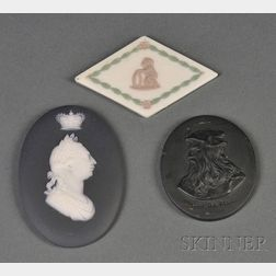 Three Assorted Wedgwood Medallions