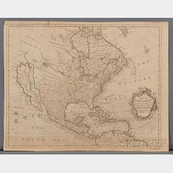 North America. Robert Seale (fl. circa 1745) A Map of North America with the European Settlements & Whatever else is Remarkable in ye W