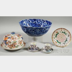 Seven Assorted Japanese Porcelain Items