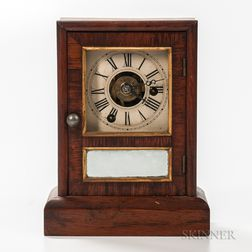 Seth Thomas Time and Alarm Cottage Clock