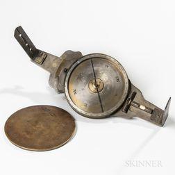 William Clark & Son Vernier Compass