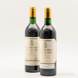 Chateau Pichon Lalande 1989, 2 bottles