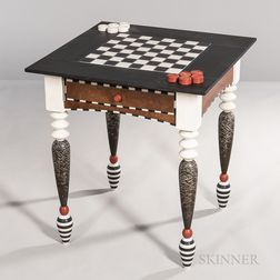 Kim Kelzer Studio Furniture Checkers Table