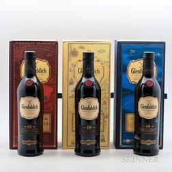 Glenfiddich, 3 70cl bottles (pc)