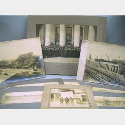 Five Photographs Relating to Construction of Pennsylvania Station, New York City