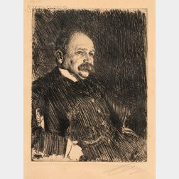 Anders Zorn (Swedish, 1860-1920)      Colonel Lamont III