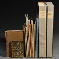 Private Presses, Fourteen Volumes: