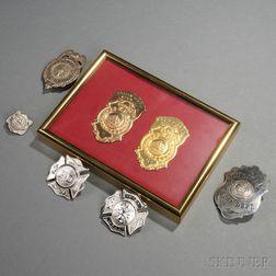 Seven Fire Badges
