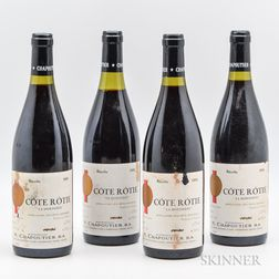 Chapoutier Cote Rotie La Mordoree 1991, 4 bottles