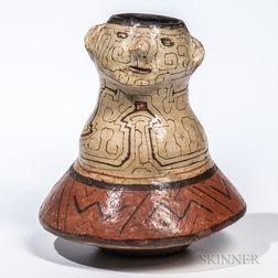 Shipibo Pottery Vessel