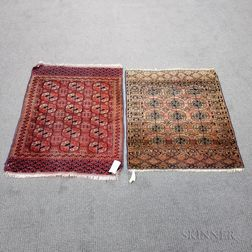 Small Tekke Rug and a Turkoman Rug