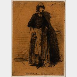 James Abbott McNeill Whistler (American, 1834-1903)      La Mère Gérard