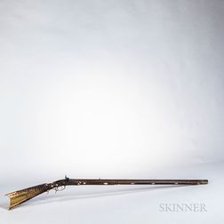 Inlaid Full-stock Kentucky-style Rifle