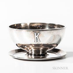 Kalo Shops Sterling Silver Butter Dish