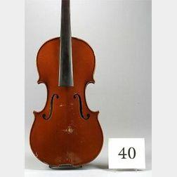 Modern French Violin, H. Emile Blondelet, Paris, 1924