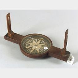 Mahogany Surveyor's Compass by Newell