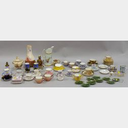 Group of Assorted Decorated Ceramics and Table Items