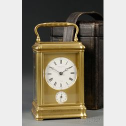 French Grande Sonnerie Carriage Clock by LeRoy & Fils