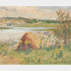 John Leslie Breck (American, 1860-1899)      Marsh View