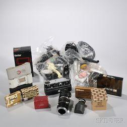 Box of Camera Accessories