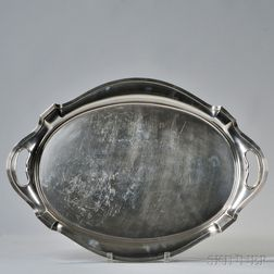 "Gorham ""Plymouth"" Pattern Sterling Silver Tray"