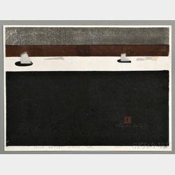 Kiyoshi Saito (1907-1997), Stone Garden Kyoto