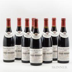 Bouchard Pere & Fils Clos Vougeot 2005, 8 bottles