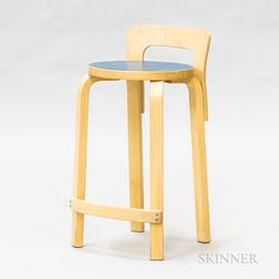 Alvar Aalto Bleached Laminate High Chair