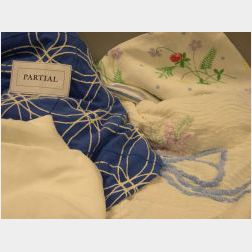Lot of Assorted Personal and Table Linens and Textiles