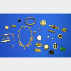 Assorted Victorian and Estate Jewelry