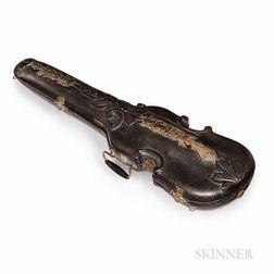 Carved Violin Case, c. 1880