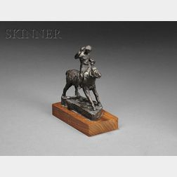 Allan Albert Davidson (American, 1908-1988)      Rider on Horseback