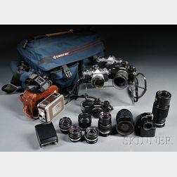 Olympus 35mm Camera Bodies and Lenses