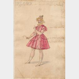 Studio of Daniel Rabel (French, 1578-1637)      Costume Design for a Gentleman