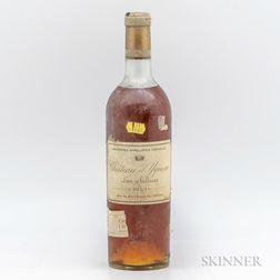 Chateau dYquem 1953, 1 bottle