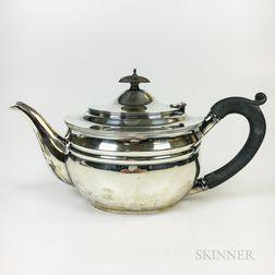 George V Sterling Silver Teapot