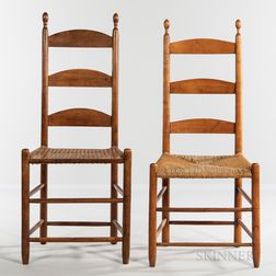 Two Shaker Tilter Chairs