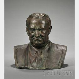 Wedgwood Arnold Machin Design Bust of Ernest Bevin