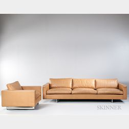 Jens Risom Design Inc. Sofa and Chair