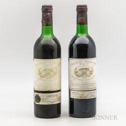 Chateau Margaux, 2 bottles