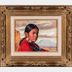 Kenneth Freeman (Arizona, 1935-2008)    Gray Eyes
