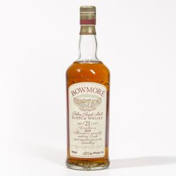 Bowmore 21 Years Old 1974, 1 750ml bottle