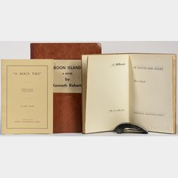 Literature, Three Titles: Mark Twain, Kenneth Roberts, and Bret Harte.
