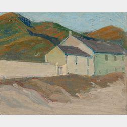 Margaret Jordan Patterson (American, 1867-1950)      Cottage by the Shore
