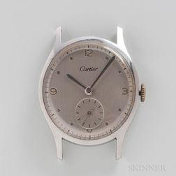 Cartier Stainless Steel Wristwatch