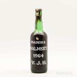 Justinos Malmsey Madeira 1964, 1 bottle