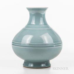 Clair-de-lune-glazed Vase