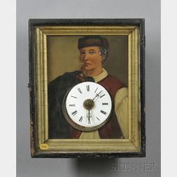 Black Forest Picture Frame Clock and Automata