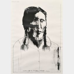 Leonard Baskin (American, 1922-2000)      Pedro Cajete