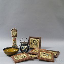 Nine Doulton Ceramic Items